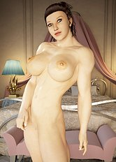 Crazy big tits, 3d hentai images