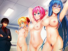 Hottest big tits, blowjob, group, bondage, toys, lesbian, dp hentai images