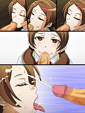 Amazing blowjob, group hentai pictures