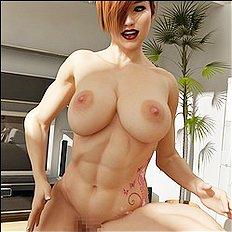 Fabulous 3d, big tits, lesbian, group hentai archive