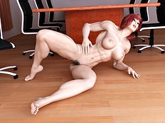 Hottest 3d, big tits hentai set