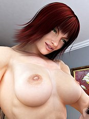 Crazy 3d, big tits, lesbian, toys hentai pictures