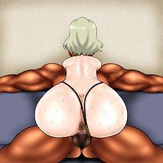 Hottest big tits, blowjob, group, bondage hentai archive