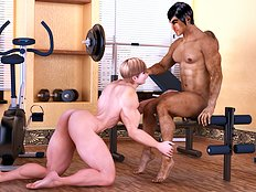 Horny 3d, big tits, blowjob hentai pictures